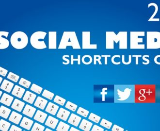 social media shortcut guide