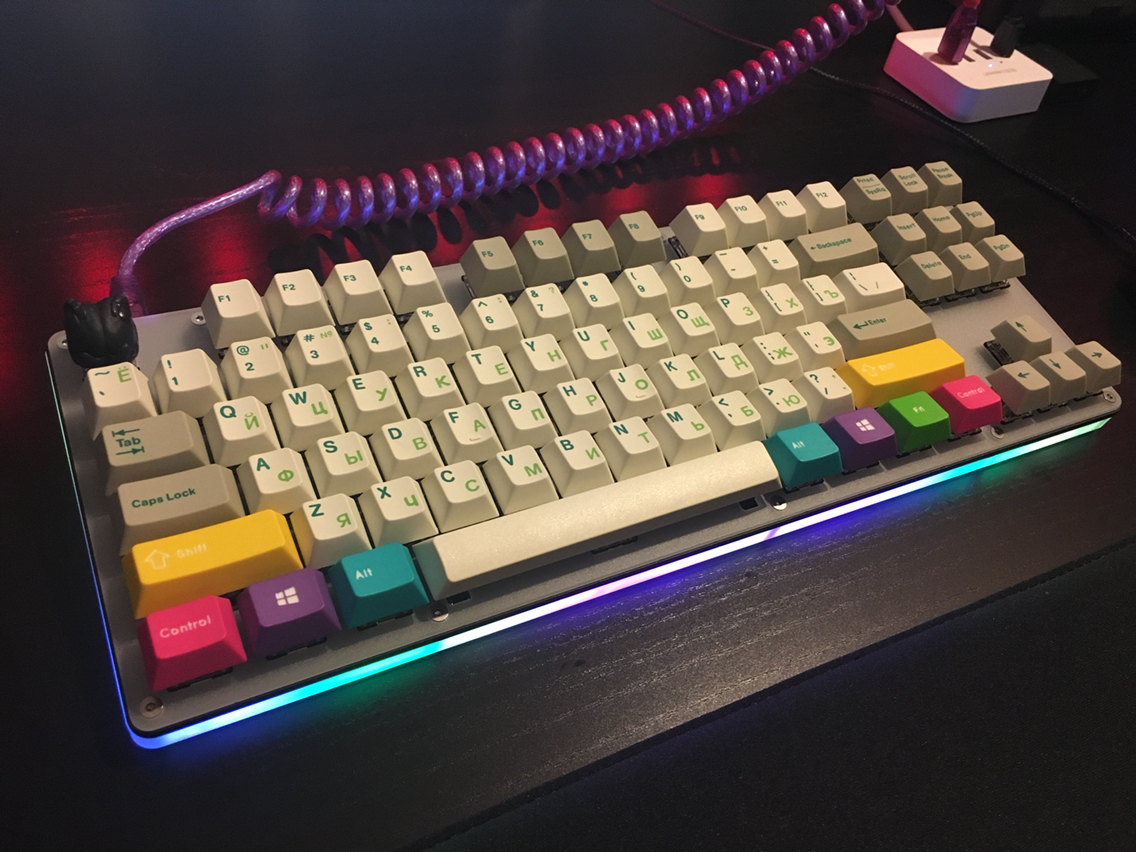 6540fe407ba Some of these custom keyboards are simply epic, showing a fantastic range  of what you can do with a bit of time, some creativity and some cool  keycaps.